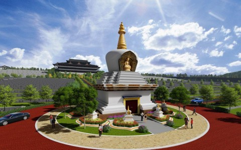 Stupa – A Sacred Place with Added Blessing
