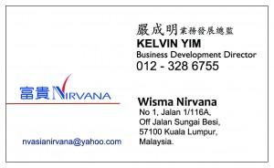 Kelvin Yim Name Card